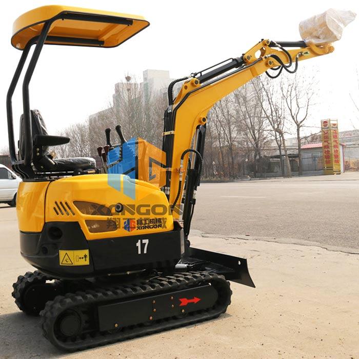 XG1.7t微型挖掘机